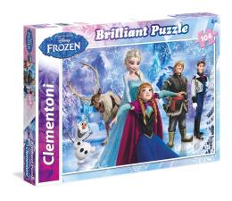 Puzzle dla dzieci Clementoni Puzzle Disney Brilliant Frozen 104 el.