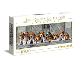 Puzzle 500 - 1000 elementów Clementoni Puzzle Panorama HQ  Beagles