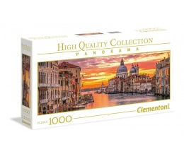Puzzle 500 - 1000 elementów Clementoni Puzzle Panorama HQ  The Grand Canal - Venice