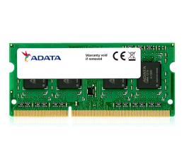 Pamięć RAM SODIMM DDR3 ADATA 4GB 1600MHz DDR3L CL11 1.35V