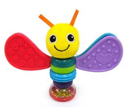 Zabawka dla małych dzieci TOMY Lamaze grzechotka motylek Freddie