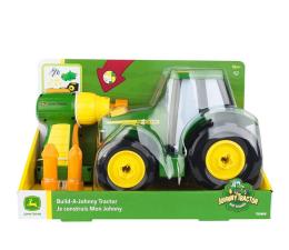 Pojazd / tor i garaż TOMY John Deere Zbuduj Traktor Johnny