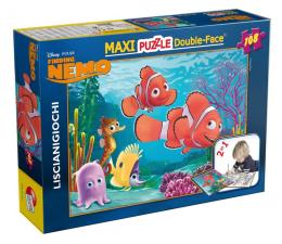 Puzzle dla dzieci Lisciani Giochi Disney dwustronne Maxi 108 el. Nemo