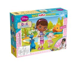 Puzzle dla dzieci Lisciani Giochi Disney dwustronne Maxi 108 el. Doktor McStuffin