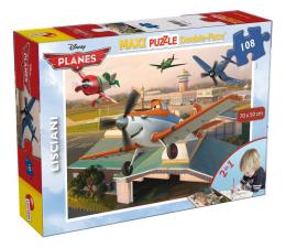 Puzzle dla dzieci Lisciani Giochi Disney dwustronne Maxi 108 el. PLANES v2