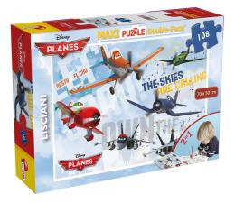 Puzzle dla dzieci Lisciani Giochi Disney dwustronne Maxi 108 el. Planes v1