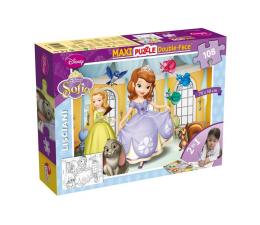 Puzzle dla dzieci Lisciani Giochi Disney Dwustronne Maxi 108 el. Księżniczka Zosia