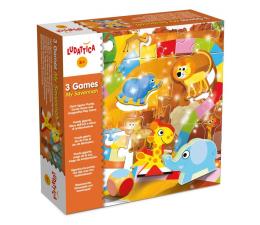 Gra dla małych dzieci Lisciani Giochi Ludattica 3 gry Moja Sawanna