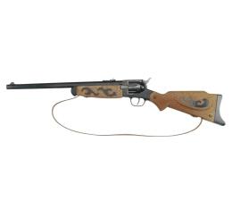 Zabawka militarna J.G. Schrodel Rewolwer Buffalo Gun, 12 strzałów