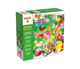 Gra dla małych dzieci Lisciani Giochi Ludattica 3 gry Moja Farma