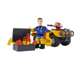 Pojazd / tor i garaż Simba Strażak Sam Quad Mercury z figurką