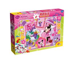 Puzzle dla dzieci Lisciani Giochi Disney dwustronne 60 el. Minnie