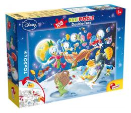 Puzzle dla dzieci Lisciani Giochi Disney dwustronne Maxi 108 el. Mickey