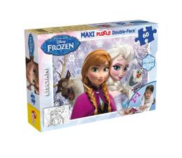 Puzzle dla dzieci Lisciani Giochi Disney dwustronne Maxi 60 el. Frozen