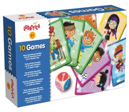 Gra dla małych dzieci Lisciani Giochi Ludattica 10 gier
