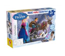 Puzzle dla dzieci Lisciani Giochi Disney dwustronne Maxi 108 el. Frozen