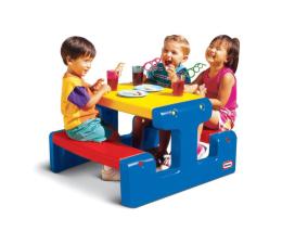 Meble ogrodowe dla dzieci Little Tikes Duży stolik ogrodowy dla dzieci niebieski
