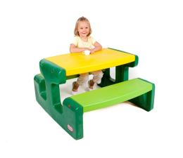 Meble ogrodowe dla dzieci Little Tikes Duży stolik piknikowy zielony