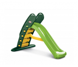 Plac zabaw Little Tikes Wielka zjeżdżalnia zielona