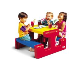 Meble ogrodowe dla dzieci Little Tikes Mały stolik ogrodowy dla dzieci niebieski