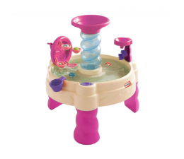 Plac zabaw Little Tikes Fontanna Spiralna różowa