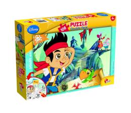 Puzzle dla dzieci Lisciani Giochi Disney dwustronne 108 el. Jake