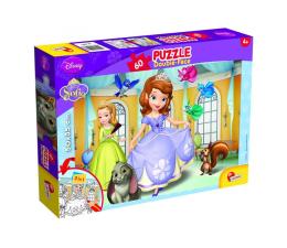 Puzzle dla dzieci Lisciani Giochi Disney dwustronne 60 el. Jej Wysokość Zosia