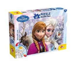 Puzzle dla dzieci Lisciani Giochi Disney dwustronne 60 el. Kraina Lodu