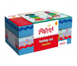 Gra dla małych dzieci Lisciani Giochi Ludattica Fantasy Mix potwory