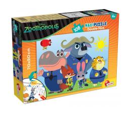 Puzzle dla dzieci Lisciani Giochi Disney dwustronne Maxi 108 el. Zwierzogród