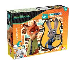 Puzzle dla dzieci Lisciani Giochi Disney dwustronne Maxi 150 el. Zwierzogród