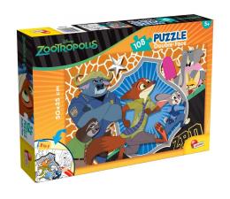 Puzzle dla dzieci Lisciani Giochi Disney dwustronne 108 el. Zwierzogród