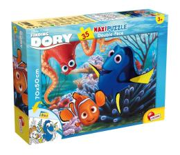 Puzzle dla dzieci Lisciani Giochi Disney dwustronne Maxi 35 el. Gdzie jest Dory