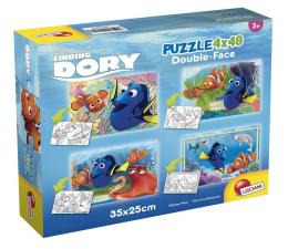 Puzzle dla dzieci Lisciani Giochi Disney dwustronne 4x48 el. Gdzie jest Dory