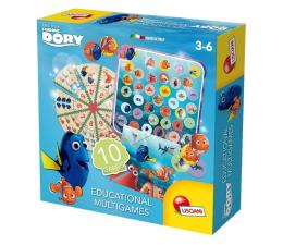Gra dla małych dzieci Lisciani Giochi Disney Dory zestaw 10 gier edukacyjnych