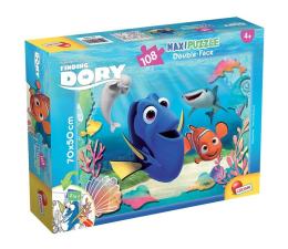 Puzzle dla dzieci Lisciani Giochi Disney Dwustronne Maxi 108 el. Dory i Nemo