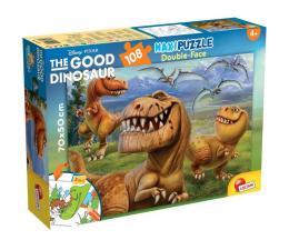 Puzzle dla dzieci Lisciani Giochi Disney dwustronne Maxi 108 el. Dobry Dinozaur