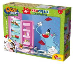 Puzzle dla dzieci Lisciani Giochi Dwustronne Maxi 150 el. Oggy i karaluchy