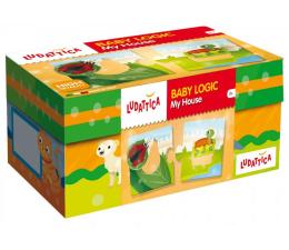 Gra dla małych dzieci Lisciani Giochi Ludattica Baby Logic mój dom
