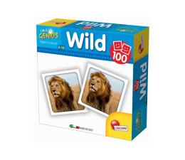 Gra dla małych dzieci Lisciani Giochi Mały Geniusz Memoria 100 el. zwierzęta