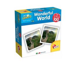 Gra dla małych dzieci Lisciani Giochi Mały Geniusz Memoria 100 el. Cuda świata