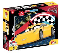 Puzzle dla dzieci Lisciani Giochi Disney dwustronne Maxi 35 el. Auta 3