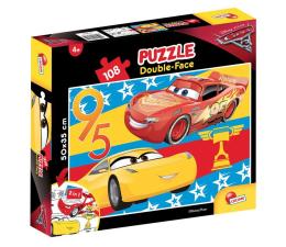 Puzzle dla dzieci Lisciani Giochi Disney dwustronne 108 el. Cars 3