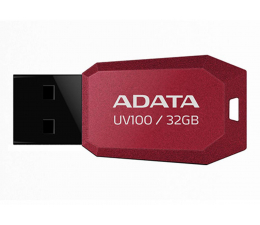 Pendrive (pamięć USB) ADATA 32GB DashDrive Value UV100 czerwony