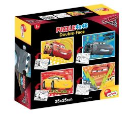 Puzzle dla dzieci Lisciani Giochi Disney dwustronne 4x48 el. Auta 3