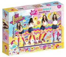 Puzzle dla dzieci Lisciani Giochi Disney dwustronne Maxi 150 el. Soy Luna