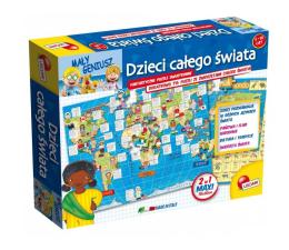 Puzzle dla dzieci Lisciani Giochi Mały Geniusz Dzieci całego świata 108 el.