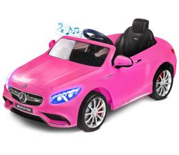Pojazd na akumulator Toyz Samochód Mercedes AMG S63 Pink
