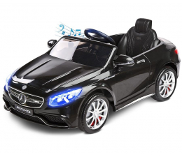 Pojazd na akumulator Toyz Samochód Mercedes AMG S63 Black