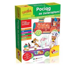 Gra dla małych dzieci Lisciani Giochi Carotina Pociąg ze zwierzętami